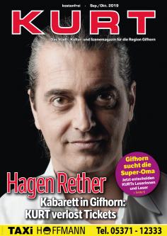 KURT verlost Tickets für Hagen Rether in Gifhorn