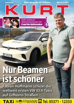 Nur Beamen ist schöner - mit den weltweit ersten VW ID.4-Taxis auf Gifhorns Straßen!