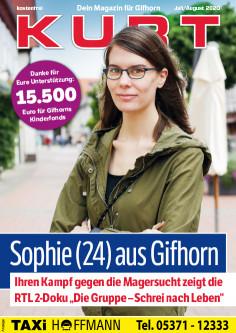Sophie (24) aus Gifhorn - Ihren Kampf gegen die Magersucht zeigt die RTL 2-Doku