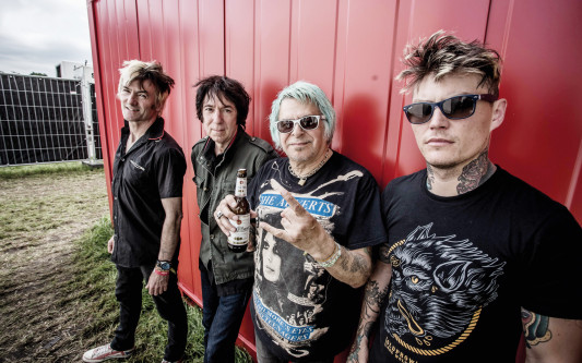 Punkrock-Shouter Charlie Harper im KURT-Interview: